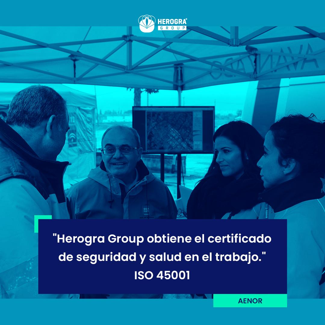 Nuevo certificado sobre seguridad y salud en el trabajo en los centros productivos de Herogra Group
